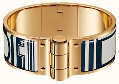 Les Coupes Tattoo hinged bracelet