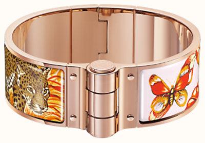 Equateur hinged bracelet