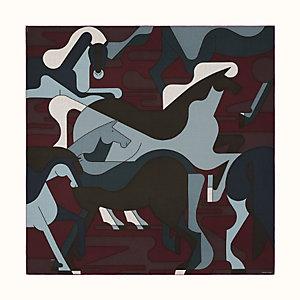 Brazilian Horses scarf 140