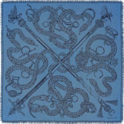 Caducee Rock scarf 100
