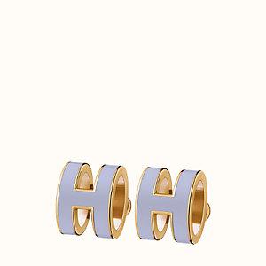 Pop H earrings
