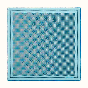 Poissons-Maillons pocket square 45