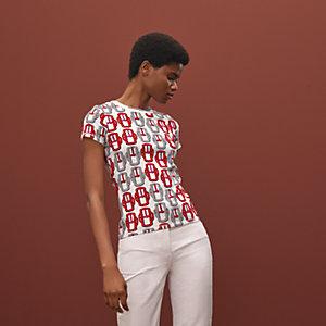 """Bouclerie moderne"" micro t-shirt"