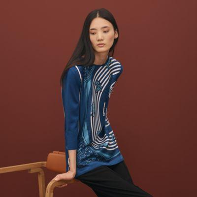 """Astrologie"" Twillaine tunic sweater"