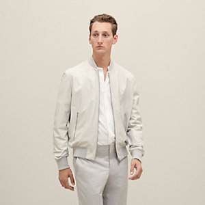 """Mors"" rib trim jacket"