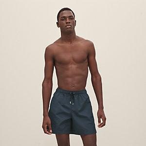 Canvas swim trunks