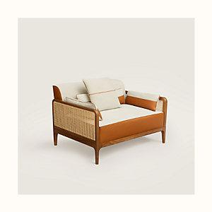 Sellier armchair