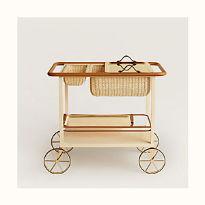 """Equipages d'Hermes """"diligence"""" side table"""
