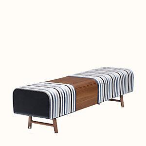Les Necessaires d'Hermes long bench