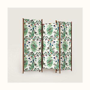 Les Necessaires d'Hermes folding screen