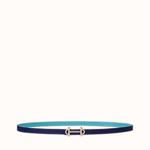 Gamma belt buckle & Cuir de ceinture réversible 13mm