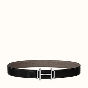 Royal belt buckle & Cuir de ceinture réversible 32 mm