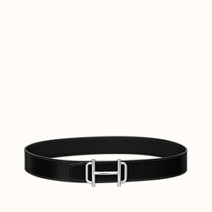 Royal belt buckle & Reversible leather strap 38 mm