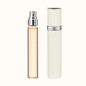 Jour d'Hermes Set of 3 Eau de parfum refills & Refillable leather case
