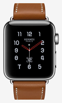 Apple Watch Hermès Series 3 Simple Tour 38mm -
