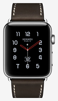 Apple Watch Hermès Series 3 Simple Tour 42mm Boucle Déployante -