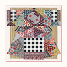 L Art du Sarasa scarf 90 - H003273S 01 50545e4e782