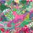 fuchsia/vert/multicolore