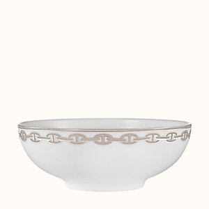 Chaine d'Ancre platinum salad bowl, small model