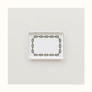 Chaine d'Ancre platinum tray, small model