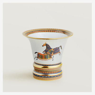 Cheval d'Orient vase, large model -