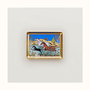 Cheval d'Orient tray, small model