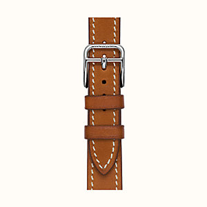 Heure H Watch Strap Single Tour, 17.2 x 17.2 mm, long