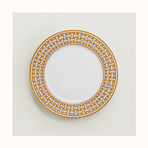 Mosaique au 24 gold dinner plate