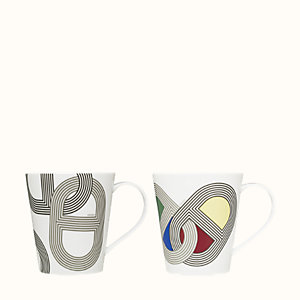 Rallye 24 set of 2 mugs