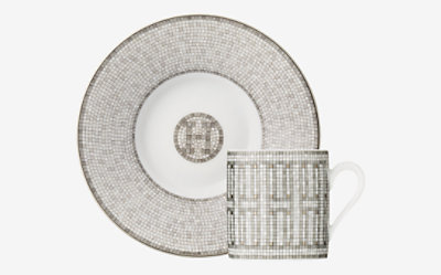 Mosaique au 24 coffee cup and saucer -