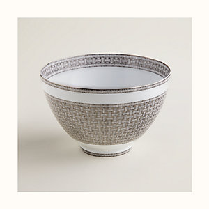 Mosaique au 24 platinum punch bowl