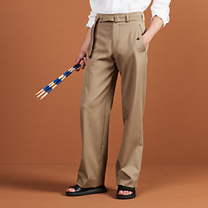 Nagoya pants with double tour belt