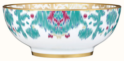 Voyage en Ikat salad bowl, small model