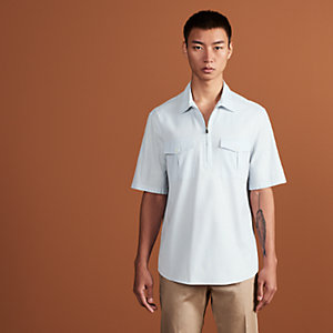 Polo shirt with pockets