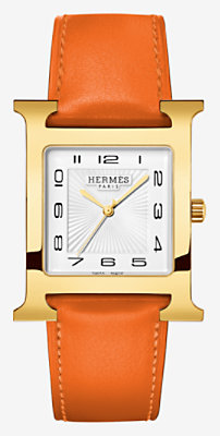 Heure H watch, 30.5 x 30.5 mm -