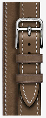 Cape Cod Watch Strap Double Tour, 23 x 23 mm, long -