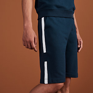 Short coulissé jogging bicolore