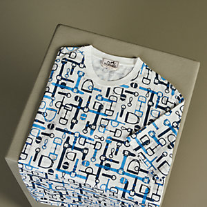 "T-shirt stampa ""Labyrinthe Equestre"""
