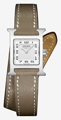 Heure H watch, very small model 17.2 x 17.2 mm -