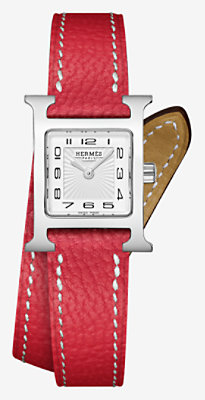 Heure H watch, 17.2 x 17.2 mm -