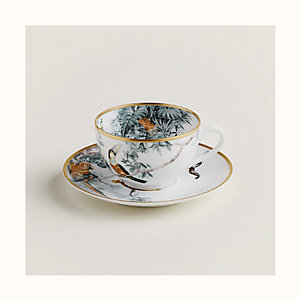 Carnets d'Equateur tea cup and saucer
