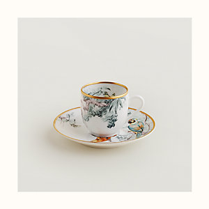 Carnets d'Equateur coffee cup and saucer
