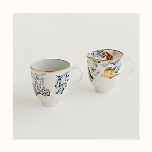 Carnets d'Equateur set of 2 mugs