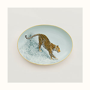 Carnets d'Equateur oval platter, small model
