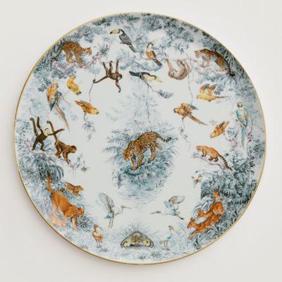 Carnets du0027Equateur round platter large model -  sc 1 st  Hermes & Tableware | Hermes
