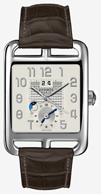 Cape Cod GMT watch, very large model 36.5 x 35.4 mm -