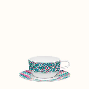 Tie Set tea cup and saucer