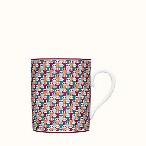 Tie Set coffee cup and saucer | Hermès UK