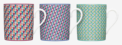 Coffret 3 mugs  Tie-set -