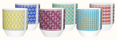 Tie Set set of 6 tumblers
